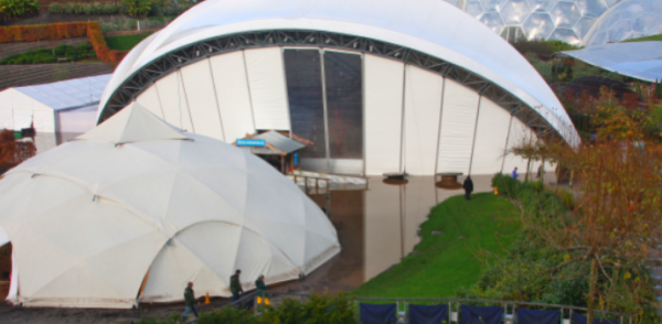 Eden Project Hit By Severe Flooding 247 Magazine