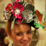 PLYMOUTH STUDENTS UNVEIL CRISP PACKET FASHION FOR LADIES' DAY AT CHELTENHAM RACECOURSE