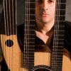 GUITARIST ESTEBAN ANTONIO UNVEILS NEW CORNISH-MADE TRIPLE-NECKED, 17 STRING GUITAR.