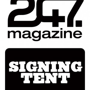 247 SIGNING TENT AT BOARDMASTERS