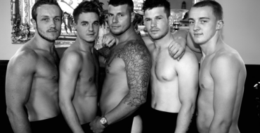 TORBAY'S 'BUFFEST BUTLERS' ON A BOAT