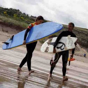 WIN SURFING LESSONS IN CORNWALL