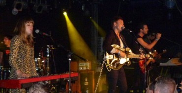 REVIEW: THE AIRBORNE TOXIC EVENT AND JOHNNY BORRELL IN CARDIFF (04/10/10)