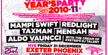 WIN EXETER NYE TICKETS