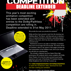 WIN A LAPTOP WITH DOLBY & ACER