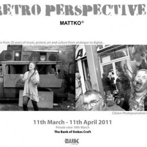 REVIEW: RETROSPECTIVE AT THE BANK OF STOKES CROFT BRISTOL