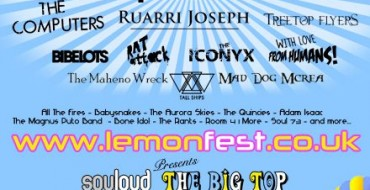 LEMONFEST 2011 HITS NEWTON ABBOT THIS WEEKEND