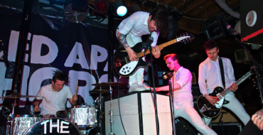 REVIEW: PULLED APART BY HORSES + THE COMPUTERS AT BRISTOL FLEECE (18/02/12)