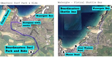 NEW SURF, PARK AND RIDE FOR BOARDMASTERS FESTIVAL