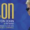 ELTON JOHN TO PERFORM AT EDEN SESSIONS