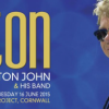 ELTON JOHN TO PERFORM AT EDEN SESSIONS